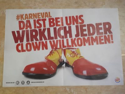 Burger King beweißt Humor