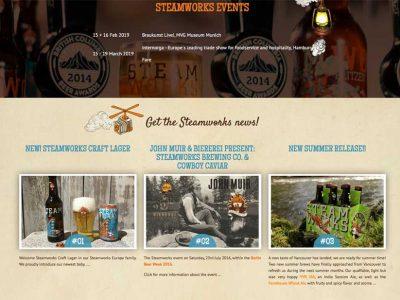 Bunt und kreativ – Steamworks bunte Bierwelt