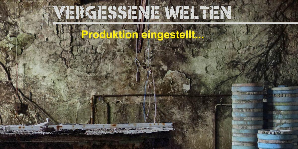 """""""Vergessene Welten – Produktion eingestellt…"""""""